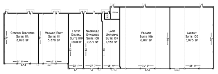 The Shoppes at Mallory Lane Site Plan