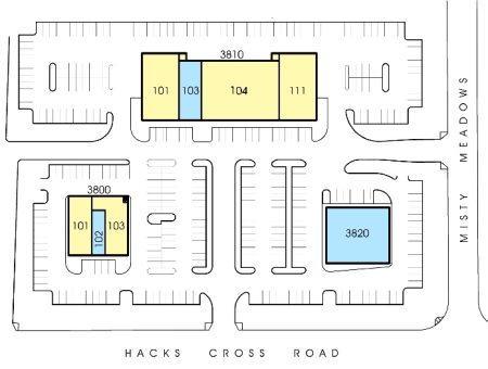 The Shoppes at Misty Meadows Site Plan